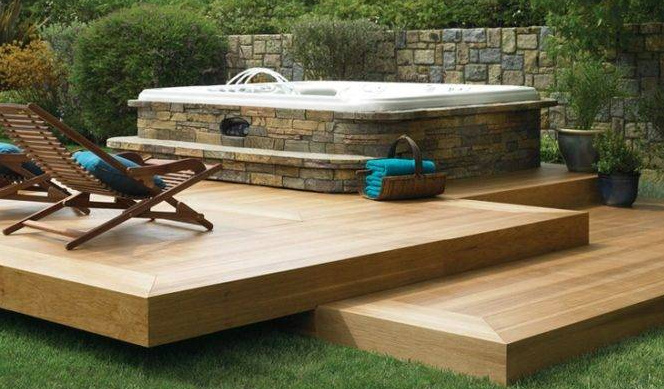build floating deck